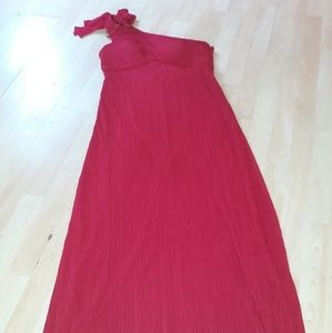 Red long gown  size 14 by Jessica  Howard